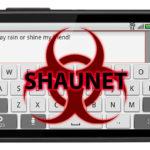 shaunet virus on android - malware