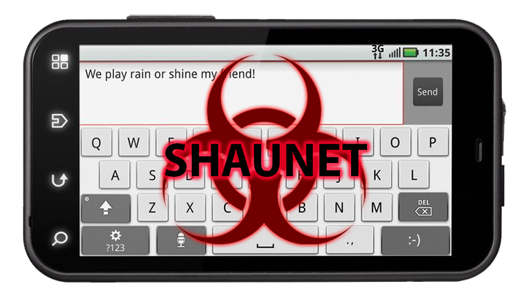 shaunet virus on android - malware