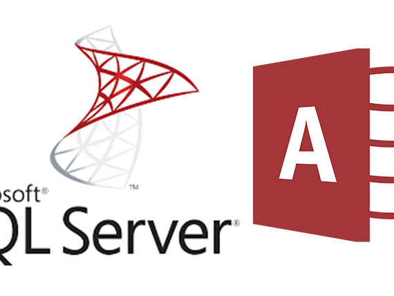 sql server and access 2013