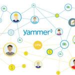 microsoft yammer - team communication and business social platform